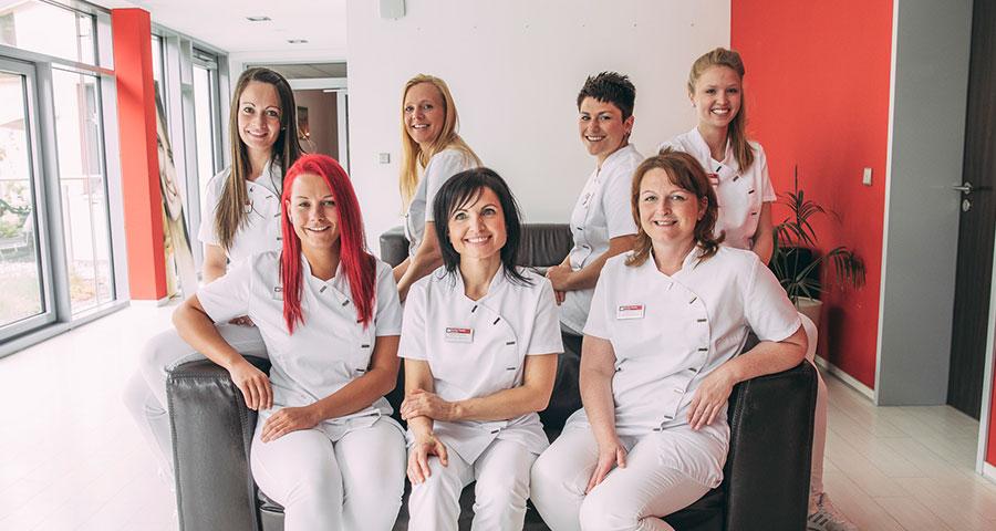 Praxisteam der Zahnarztpraxis Dental Family in Jahnsdorf bei Chemnitz