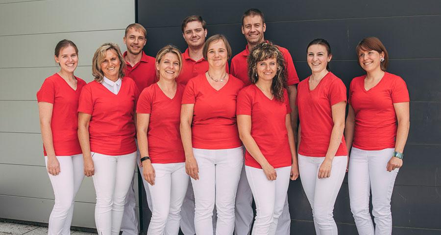 Das Team der Zahntechniker aus Ihrer Zahnarztpraxis Dental Family in Jahnsdorf bei Chemnitz